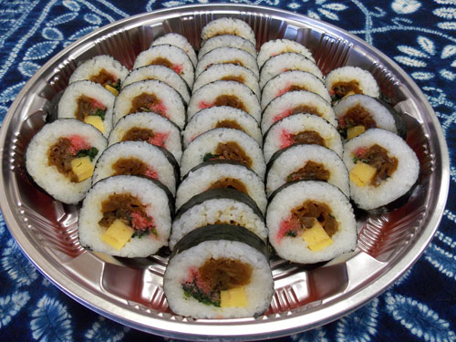 futomaki party tray